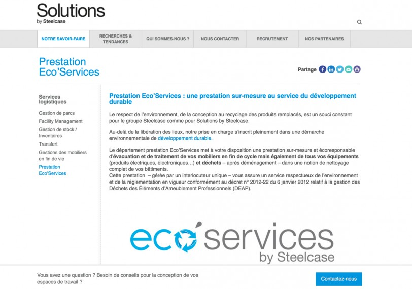 ECOSERVICESBYSTEELCASE